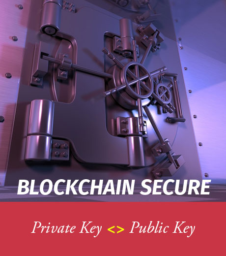 BLOCKCHAIN SECURE!